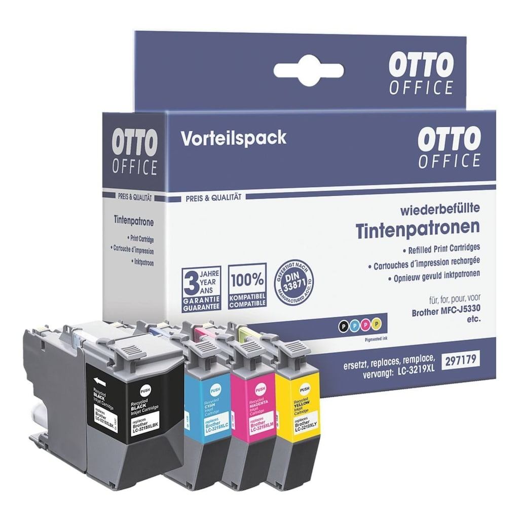 Otto Office Tintenpatronen-Set ersetzt Brother »LC-3219VALDR«