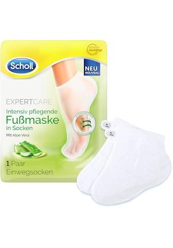 Scholl Fußmaske »Expert Care Intensiv pflegend mit Aloe Vera«, in Socken kaufen
