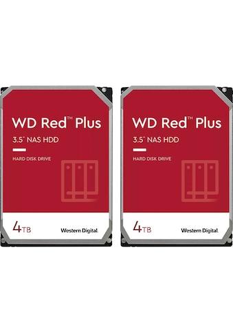 "Western Digital HDD-NAS-Festplatte »WD Red Plus«, 3,5 "", 2 x WD Red Plus 4TB kaufen"