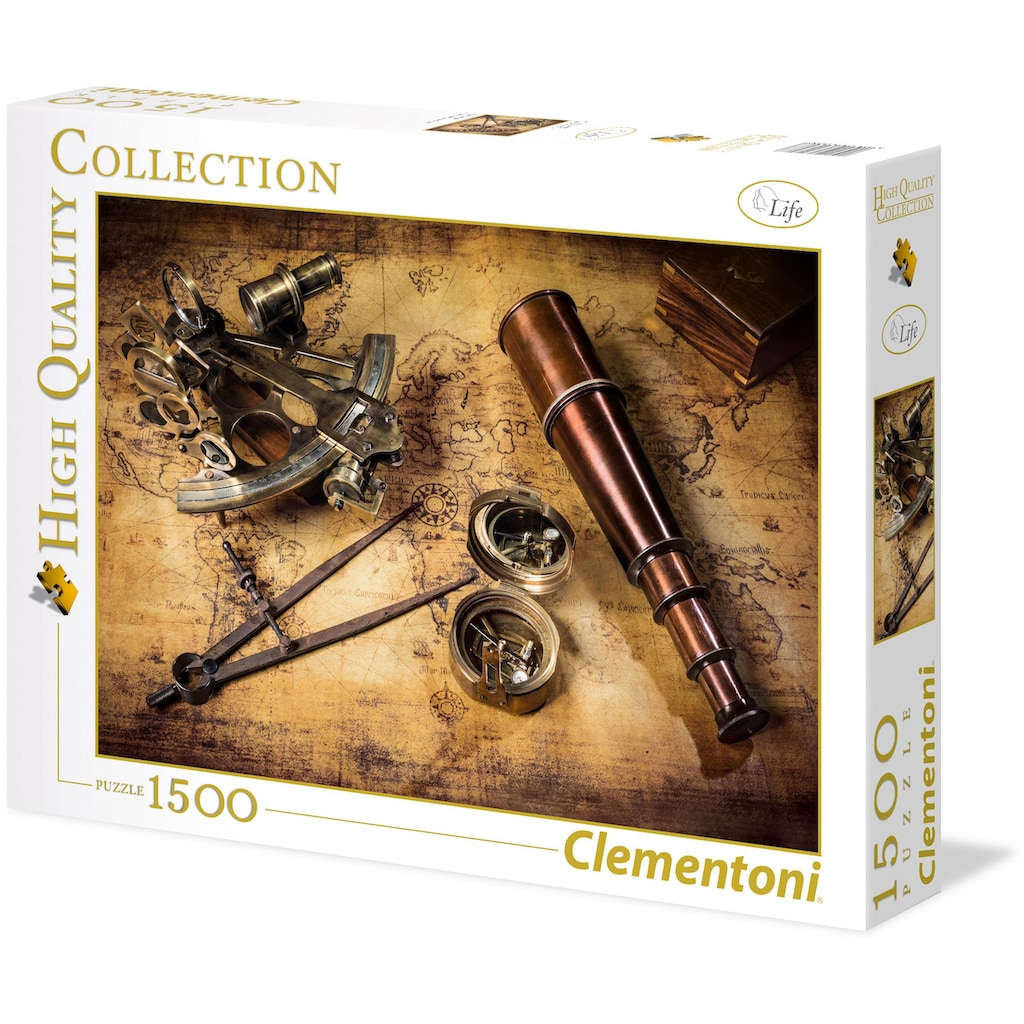 Clementoni® Puzzle »High Quality Collection - Kurs auf den Schatz«, Made in Europe