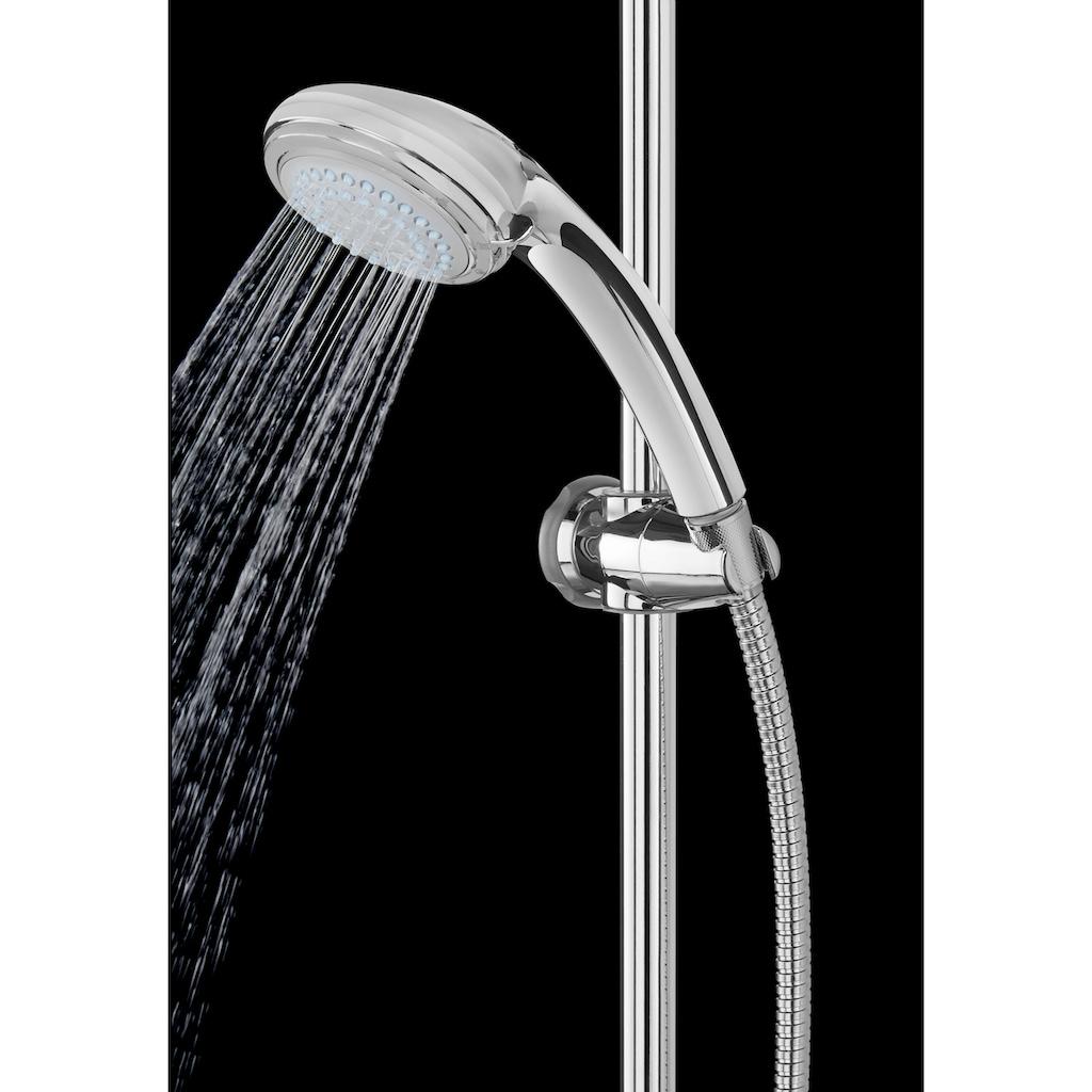 WELLTIME Überkopfbrause »LED«, rund, Dusche mit Licht - Kopfbrause , Regendusche