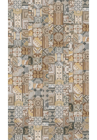 PARADOR Packung: Vinylboden »Trendtime 5.50  -  Ornamentic Colour«, 907 x 396 mm, Stärke 5 mm, 2,1 m² kaufen