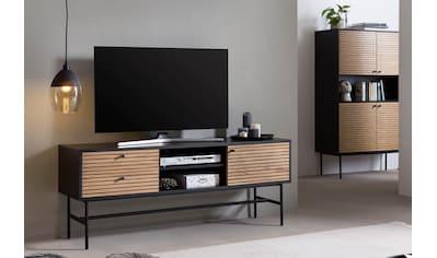 SalesFever Lowboard, Fernsehtisch mit 2 Kabeldurchführungen kaufen