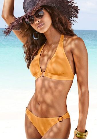 s.Oliver Triangel-Bikini-Top »Rome«, mit breitem Bündchen kaufen