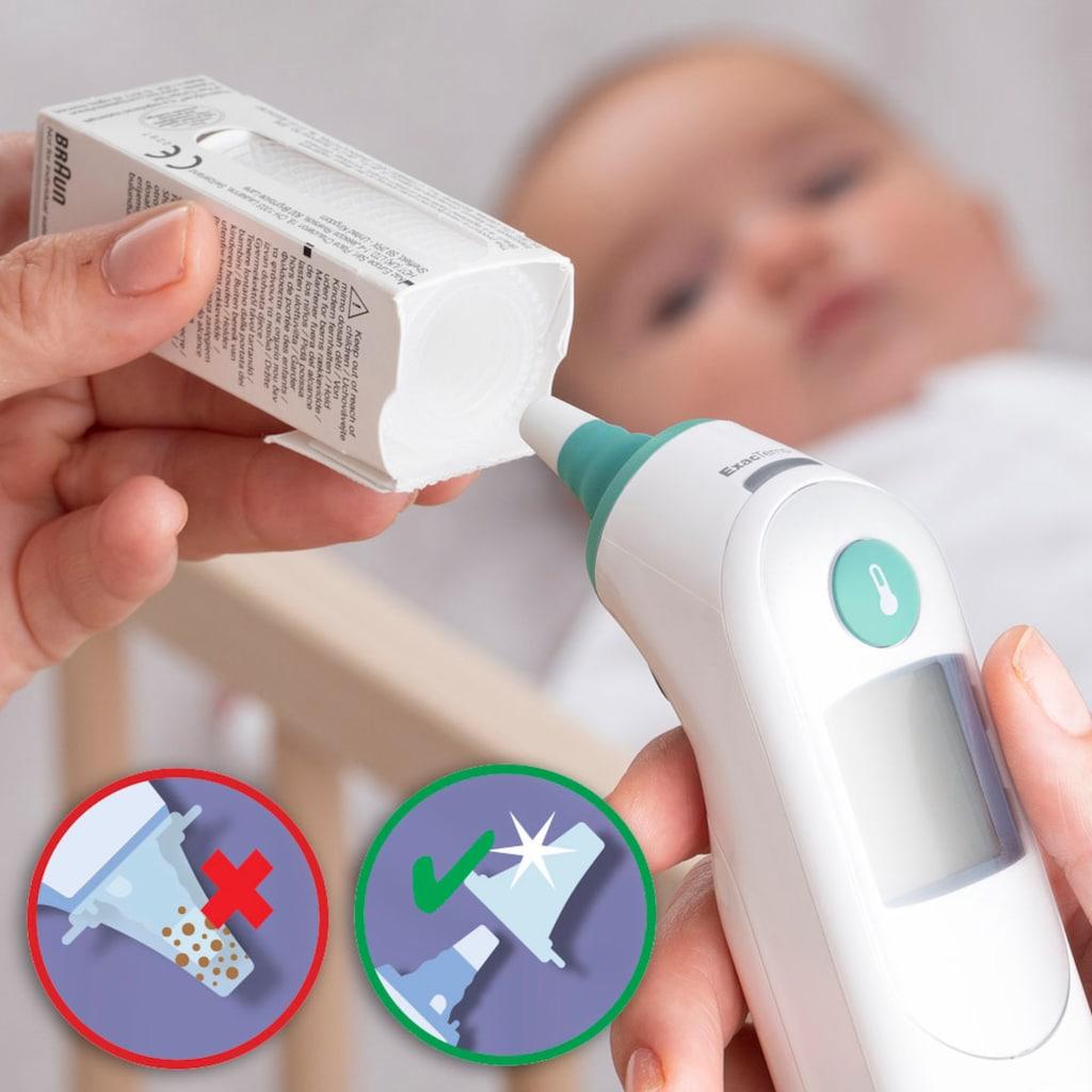 Braun Ohr-Fieberthermometer »ThermoScan® 6 Ohrthermometer IRT6515«, Inklusive 21 Einweg Schutzkappen