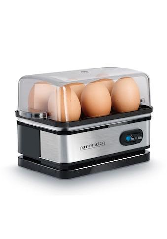 Arendo Eierkocher mit Warmhaltefunktion für 6 Eier »SIXCOOK« kaufen