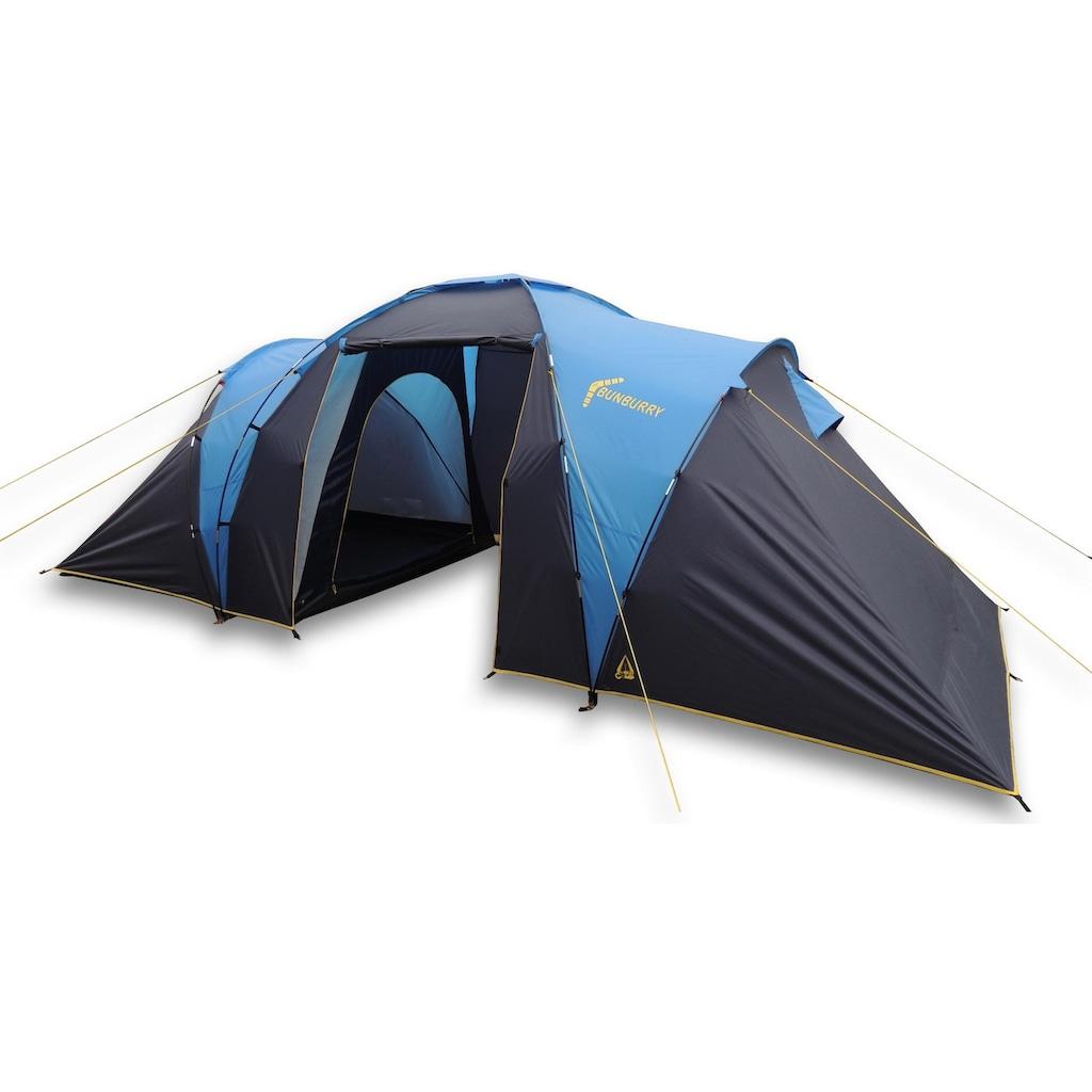 Best Camp Kuppelzelt »Bunburry 4«, 4 Personen, (Set, 2 tlg., mit Transporttasche)