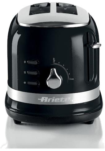 Ariete Toaster »149BK moderna schwarz«, 815 W kaufen