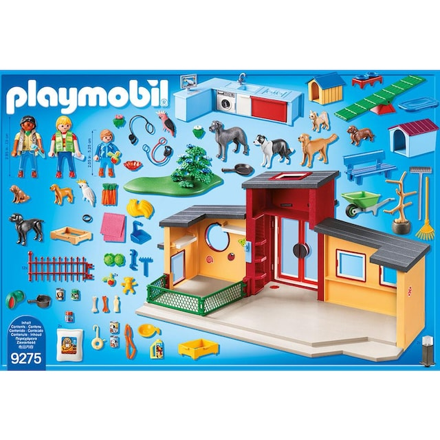 "Playmobil® Konstruktions-Spielset ""Tierhotel Pfötchen (9275), City Life"", Kunststoff"