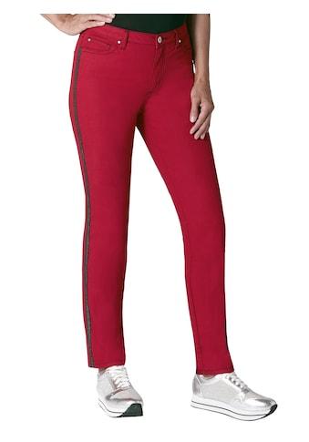 Ambria Jeans mit glänzenden Ziernähten kaufen