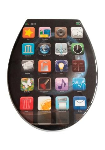 ADOB WC-Sitz »Apps«, Mit Absenkautomatik kaufen