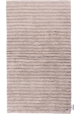 Badematte »Cotton Stripes«, TOM TAILOR, Höhe 20 mm, rutschhemmend beschichtet, fußbodenheizungsgeeignet strapazierfähig kaufen