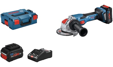 Bosch Professional Akku-Winkelschleifer »GWX 18V-15 C 125 mm (2x PC 8.0, L)«, mit 2... kaufen