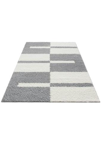 Hochflor - Teppich, »Gavin«, my home, rechteckig, Höhe 30 mm, maschinell gewebt kaufen