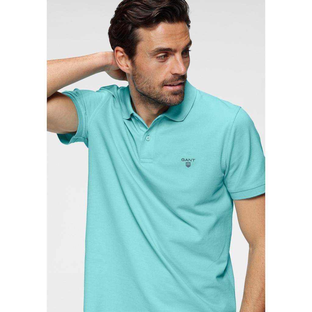 Gant Poloshirt »Summer Pique«, mit kleinem Marken-Logo