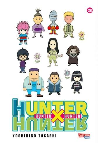 Buch »Hunter X Hunter 36 / Yoshihiro Togashi, Hiro Yamada« kaufen