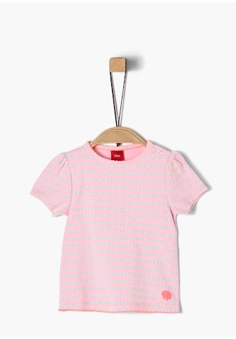 s.Oliver Jersey - Shirt_für Babys kaufen