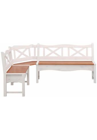 Home affaire Sitzbank »Vanda«, mit zwei Truhen und einer großen Banksitzfläche aus... kaufen