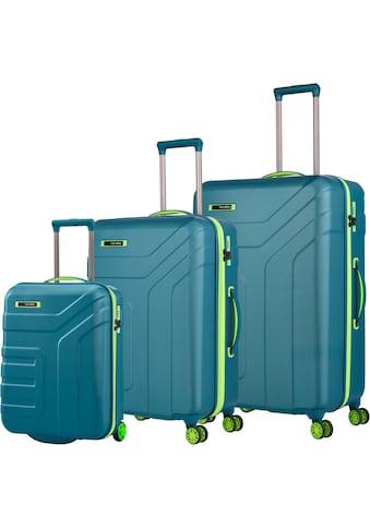 travelite Trolleyset »Vector, Petrol/Limone«, (Set, 3 tlg.) kaufen