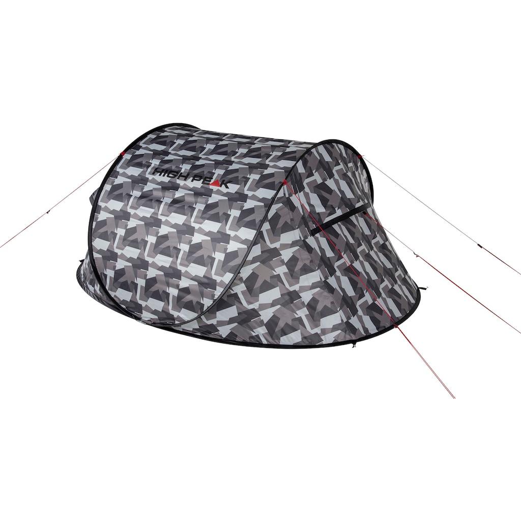 High Peak Wurfzelt »Pop up Zelt Vision 2«, 2 Personen, (mit Transporttasche)