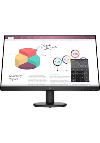 "HP LCD-Monitor »P24v G4«, 60,5 cm/23,8 "", 1920 x 1080 px, Full HD, 5 ms Reaktionszeit,... kaufen"