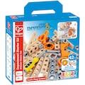 Hape Konstruktions-Spielset »Junior Inventor Erfinder Starter Set«, (42 St.)