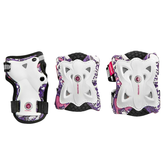 Powerslide Schutz-Set »Pro Butterfly« (Set, 3-tlg., mit Knie-, Ellenbogen- und Hangelenkschutz)