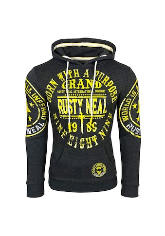 Rusty Neal Kapuzensweatshirt mit angenehmer Passform kaufen