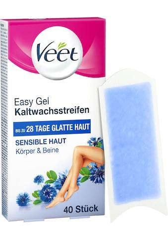 Veet Kaltwachsstreifen »Easy-Gelwax«, für Sensible Haut kaufen