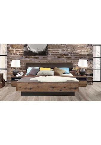 FORTE Bett »Jacky«, mit Polsterkopfteil, wahlweise mit oder ohne Bettbank kaufen