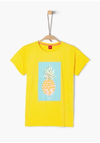 s.Oliver Baumwolle/Jersey - T - Shirt_für Mädchen kaufen