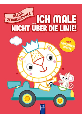 Buch »Kleine Zeichenschule - Ich male nicht über die Linie (rot) / DIVERSE« kaufen