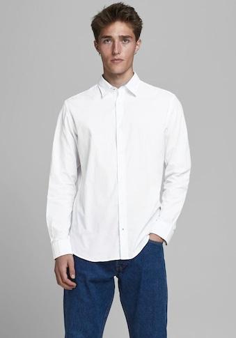 Jack & Jones Langarmhemd »Plain Poplin Shirt« kaufen
