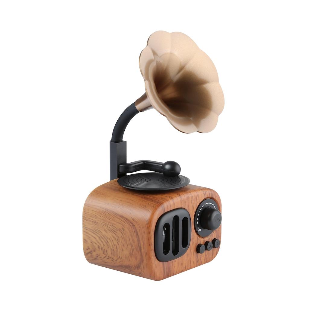 NABO Bluetooth-Lautsprecher »NABO Retro Mini«