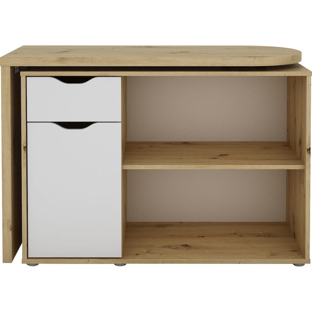 Homexperts Schreibtisch »Turner«, mit drehbarer Tischplatte