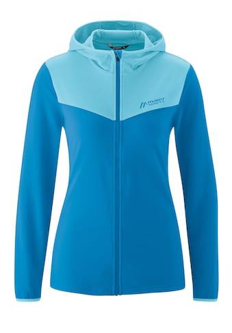 Maier Sports Fleecejacke »Torne Hood W«, Gemütliche, weiche Microfleecejacke für kühle... kaufen