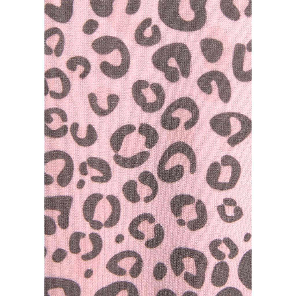KangaROOS Kapuzensweatshirt, mit Tape-Einsätzen