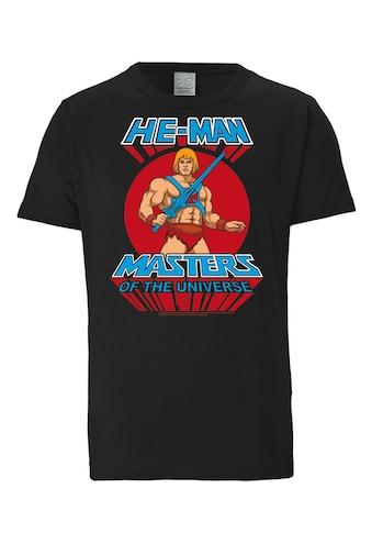 LOGOSHIRT T-Shirt mit großem Masters of the Universe-Aufdruck kaufen