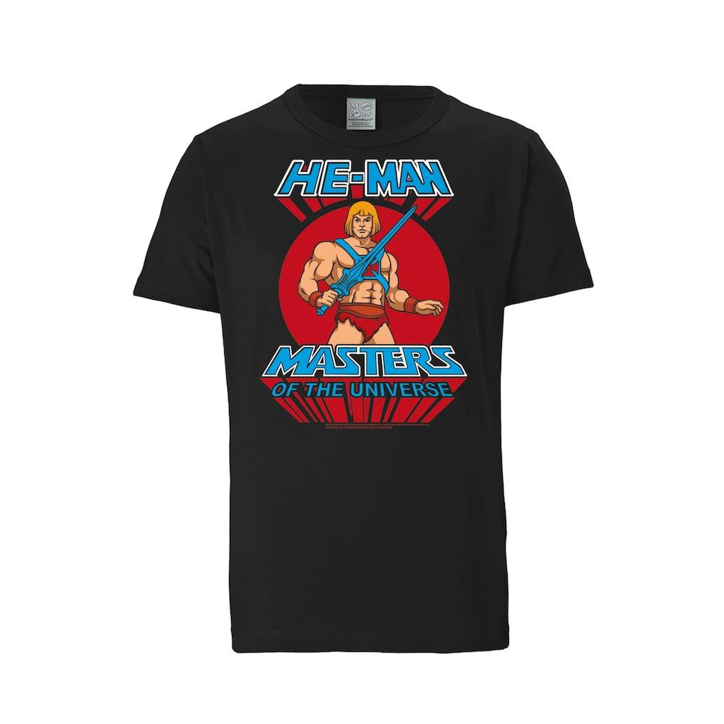 LOGOSHIRT T-Shirt mit großem Masters of the Universe-Aufdruck