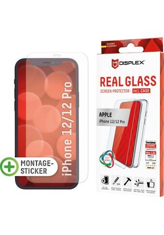 Displex Displayschutzglas »DISPLEX Real Glass Panzerglas für Apple iPhone 12/12 Pro... kaufen