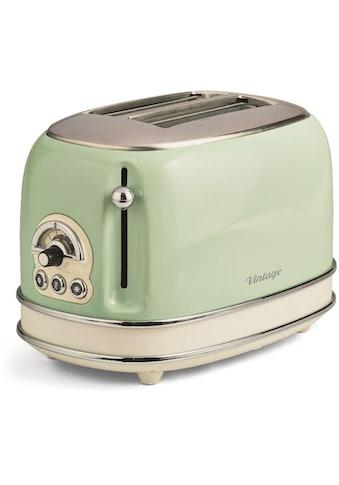 Ariete Toaster »Vintage«, 2 kurze Schlitze, für 2 Scheiben, 810 W kaufen
