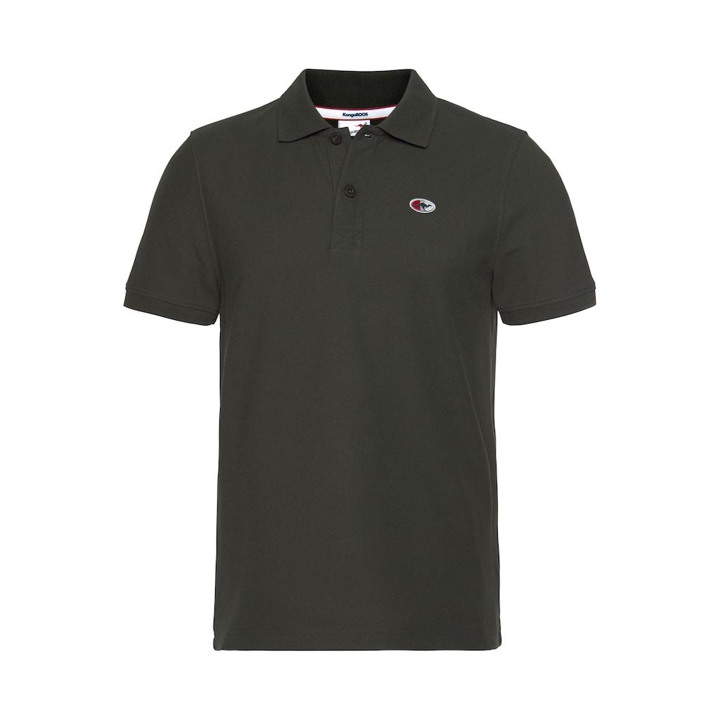 KangaROOS Poloshirt, unifarben