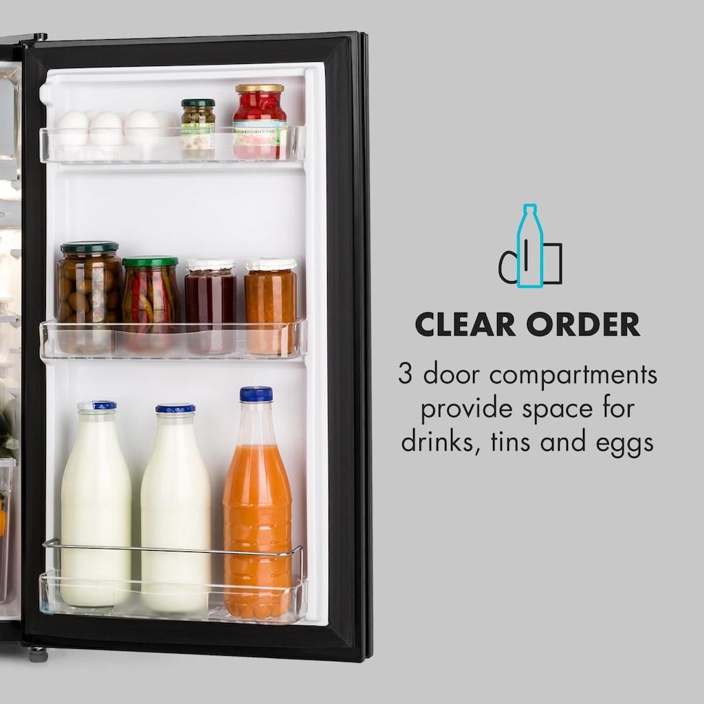 Klarstein Kühlschrank 91l Crisper-Fach 2 Glas