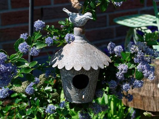 Gartendeko Vogelhaus