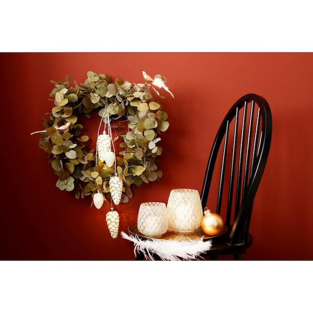 LED-Lichterkette »Zapfen«
