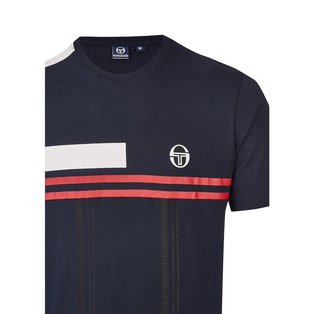 Sergio Tacchini T-Shirt DUMAN mit Streifen