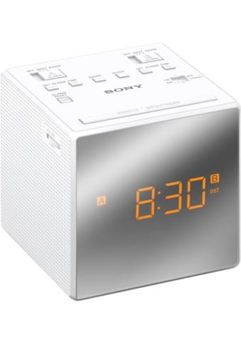 Sony Radio »Uhrenradio ICF - C1TB« kaufen