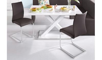 Homexperts Esszimmerstuhl »Apollo«, Bezug in Kunstleder kaufen