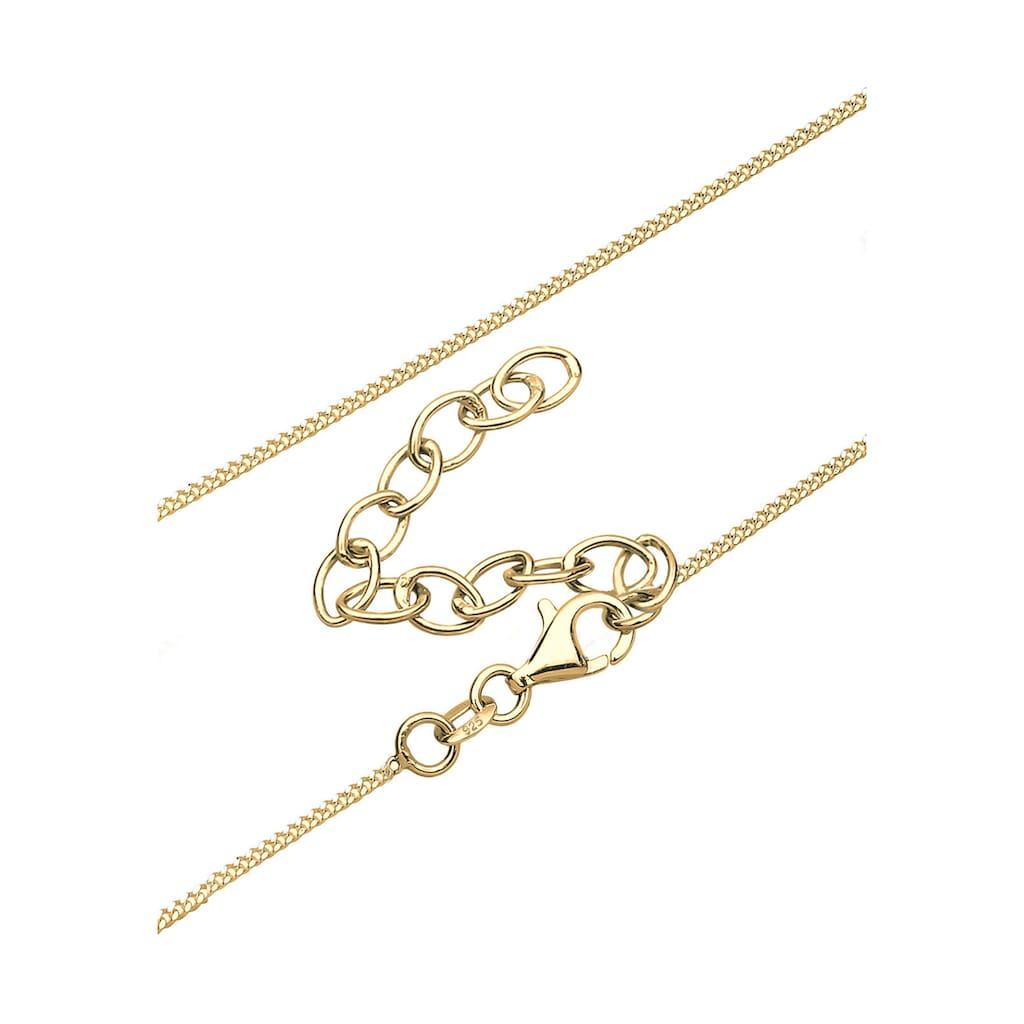 Elli Collierkettchen »Y-Kette Dreieck Geo Trend 925 Silber«