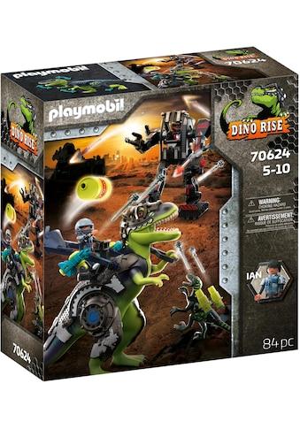Playmobil® Konstruktions-Spielset »T-Rex - Kampf der Giganten (70624), Dino Rise«, (84... kaufen
